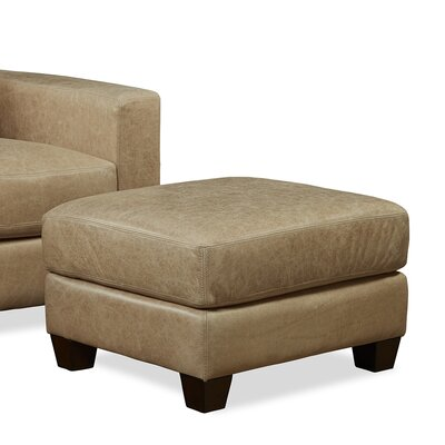 Palatial Furniture Marin Leather Ottoman