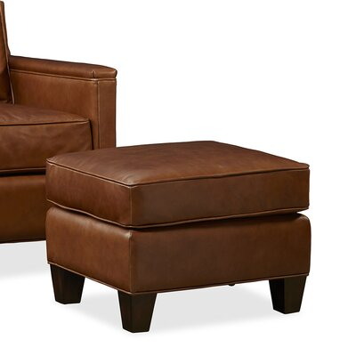 Palatial Furniture Alexander Leather Ottoman