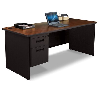 Marvel Office Furniture Pronto Computer Desk with Pedestal