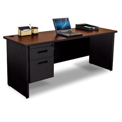 Marvel Office Furniture Pronto Box / File Executive Desk with Single Pedestal