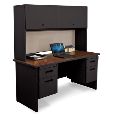 Marvel Office Furniture Pronto Executive Desk with Door and Lock