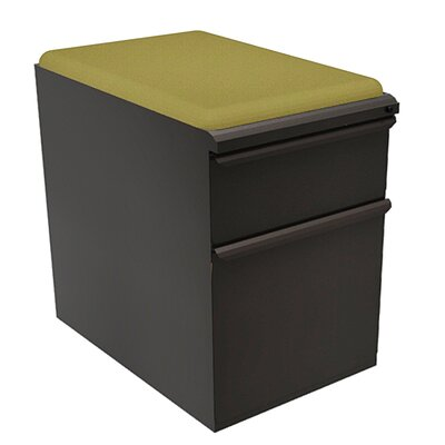 Marvel Office Furniture Zapf 2-Drawer Mobile Pedestal File Cabinet