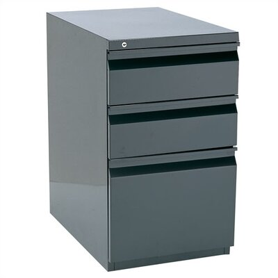 Storlie 3 Drawer Box/File Filing Cabinet Image