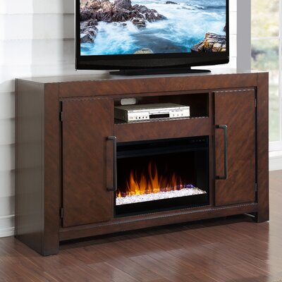 Brayden Studio Lake Macquarie TV Stand with Electric Fireplace