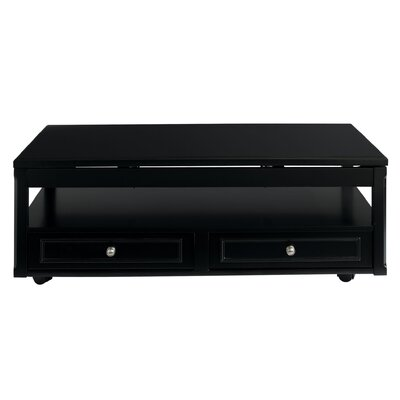 Canora Grey Cross Coffee Table with Lift Top