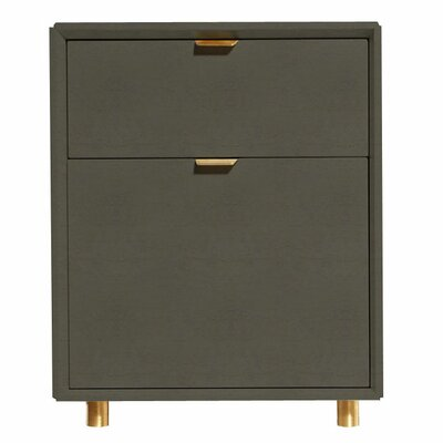 Blu Dot Dang 2 Drawer File Cabinet