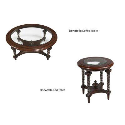 Benetti's Italia Donatella 2 Piece Coffee Table Set