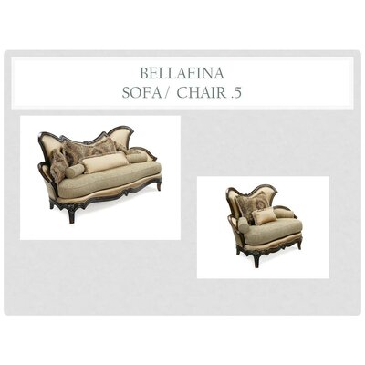 Benetti's Italia Bellafina Sofa and Chair Set