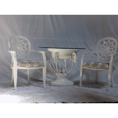 Benetti's Italia Spider 3 Piece Dining Set