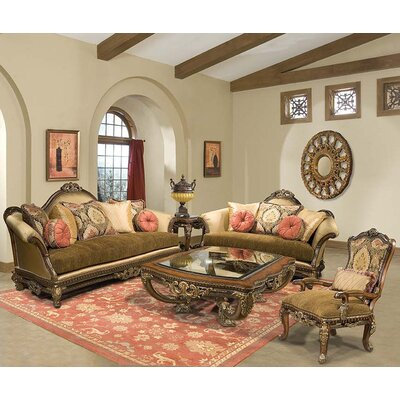 Benetti's Italia Sicily Living Room Collection