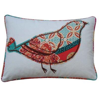 Zanzibar Throw Pillows : Levtex Home Zanzibar Bird Cotton Throw Pillow & Reviews Wayfair