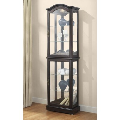 Charlton Home Loyer Curio Cabinet