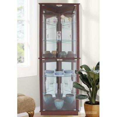Jenlea Corner Curio Cabinet