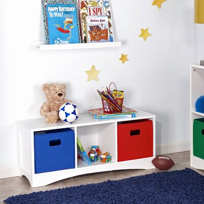 Riverridge Kids Kids Bench With Storage Compartment