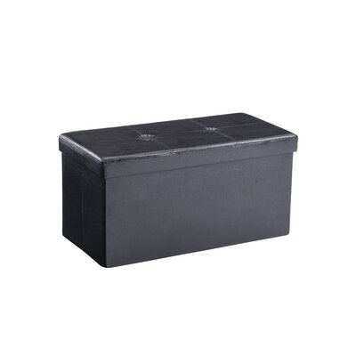 Hodedah Hodedah Collapsable Storage Ottoman