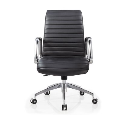 Whiteline Imports Oxford Low-Back Executive Chair