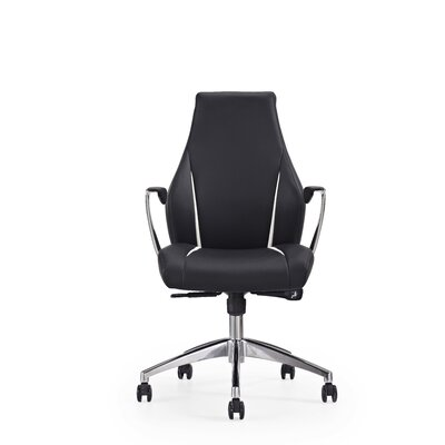 Whiteline Imports Stanford Low-Back Executive Chair