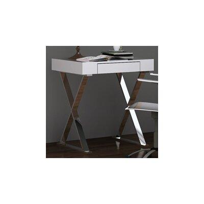 Whiteline Imports Elm Writing Desk with D..