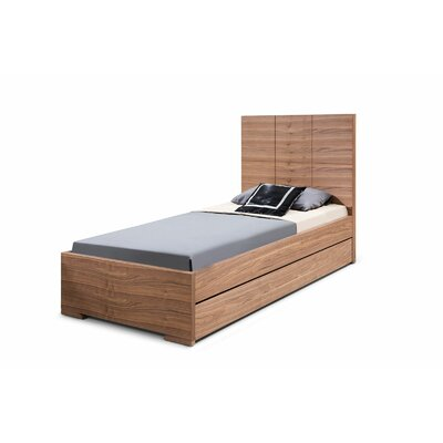 Whiteline Imports Anna Twin Trundle Bed