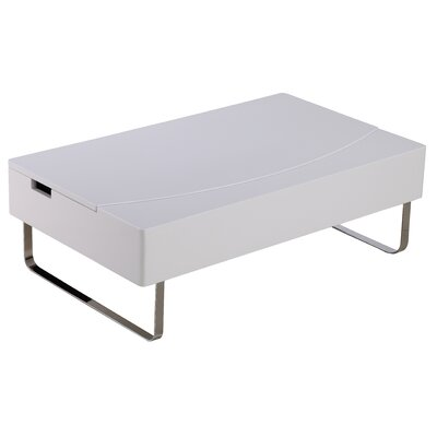 Whiteline Imports Bay Storage Coffee Table