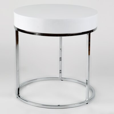 Whiteline Imports Mog Side Table
