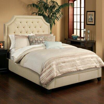 Seahawk Designs Audrey Upholstered Storage Platform Bed