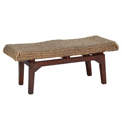 Ibolili Long Seagrass Bedroom Bench