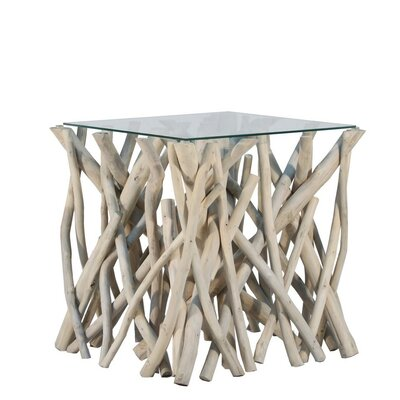 Ibolili Natural Branch End Table