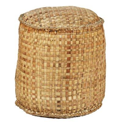 Ibolili Round Woven Ottoman