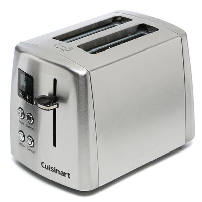 cuisinart compact 2 slice toaster