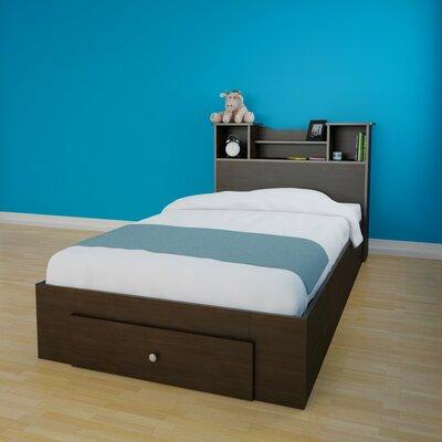 Nexera Pocono Platform Bed with Storage