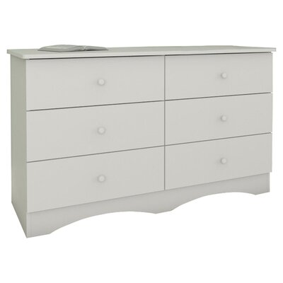 Nexera Vichy 6 Drawer Double Dresser