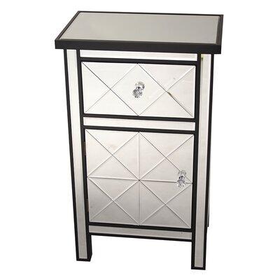 Heather Ann 1 Drawer 1 Door Accent Cabinet Reviews Wayfair