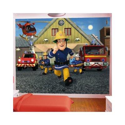 walltastic fireman sam wall mural wayfair uk fireman sam decal removable wall sticker home decor art