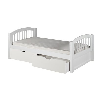 Camaflexi Twin Slat Bed with Storage
