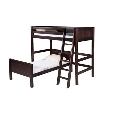 Camaflexi Twin L-Shaped Bunk Bed