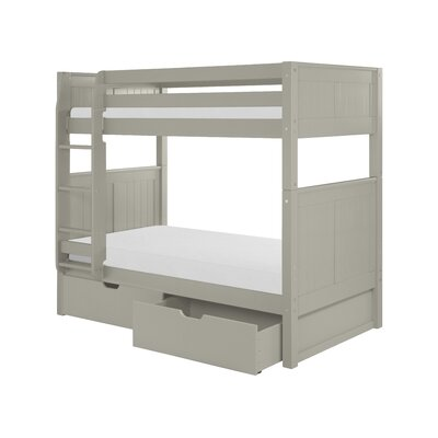 Camaflexi Twin Bunk Bed with Drawer