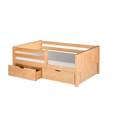 Camaflexi Twin Convertible Toddler Bed with Storage
