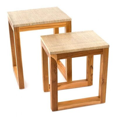 Design Ideas Siji 2 Piece End Table Set