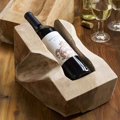 Design Ideas Takara 1 Bottle Tabletop Wine Rack