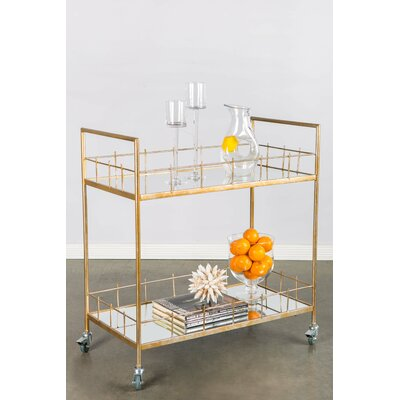 Statements by J Carrie Bar Serving Cart