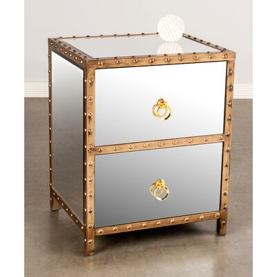Statements by J 2 Drawer Nightstand