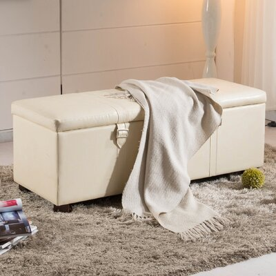 NOYA USA Castillian Upholstered Storage Bedroom Bench