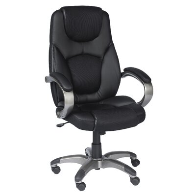 Z-Line Designs High-Back Leather Executive Office Chair