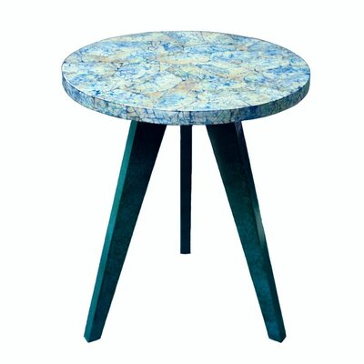 eUnique Mother of Pearl Shell End Table