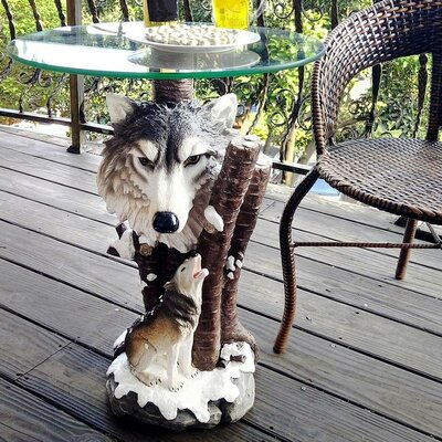 OK Lighting Forest End Table