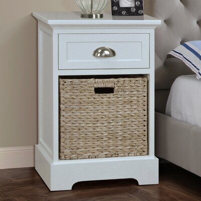 Gallerie Decor Newport 1 Drawer Nightstand