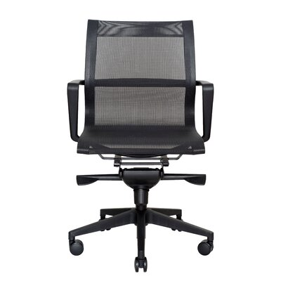Wobi Office Bradley Low-Back Mesh Conference Chair
