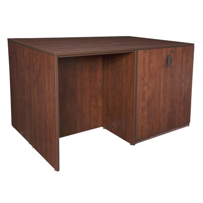 Regency Legacy Executive Desk with Cabinet