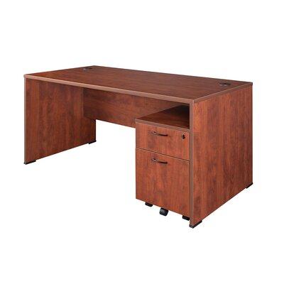 Regency Sandia Computer Desk with Mobile Box/File Pedestal